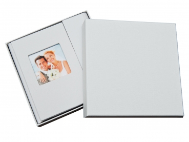 hochzeit dvd usb case mit fotobox kunstleder weiss hochzeit dvd cd usb blue ray h lle. Black Bedroom Furniture Sets. Home Design Ideas