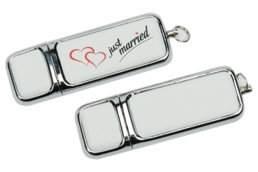 "Hochzeit USB-Stick ""Just Married"". USB 3.0"