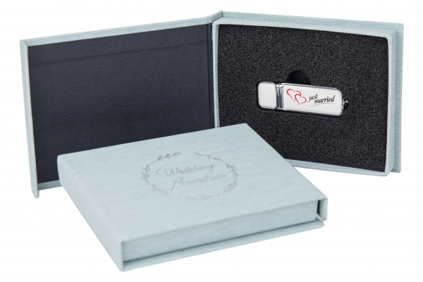 "USB-Box ""Wedding Memories"""